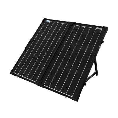 60-Watt Foldable Monocrystalline OffGrid Solar Panel Kit with 10-Amp Charge Controller & Protective Case