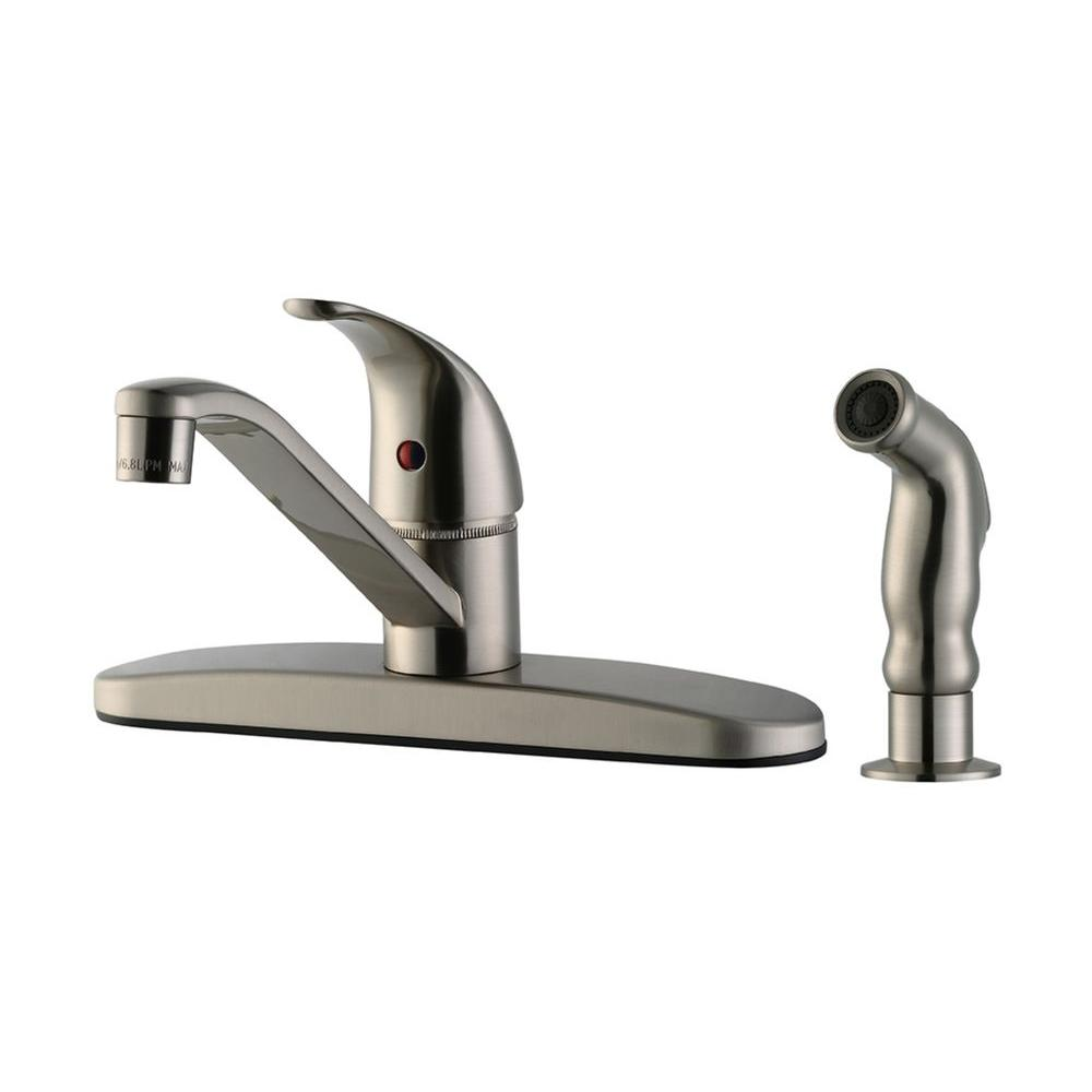 Design House Middleton Single-Handle Standard Kitchen Faucet with ...