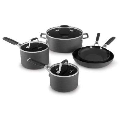 Select 8-Piece Hard Anodized Nonstick Cookware Set
