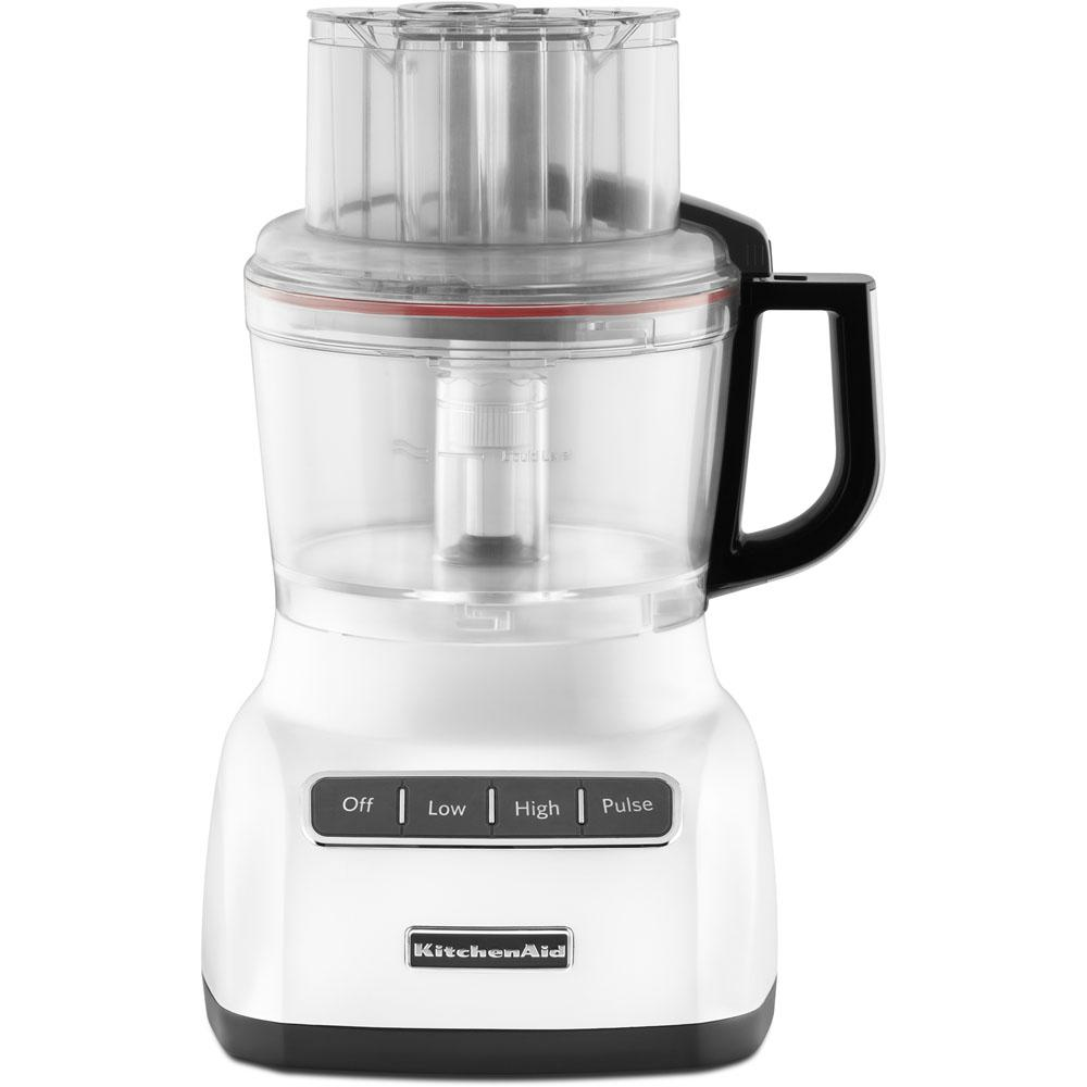 kitchenaid exactslice system food processor kfp0922wh the home depot