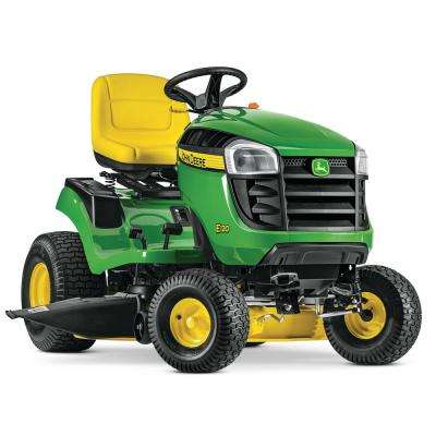 E120 42 In 20 HP V Twin Gas Hydrostatic Lawn Tractor California Compliant
