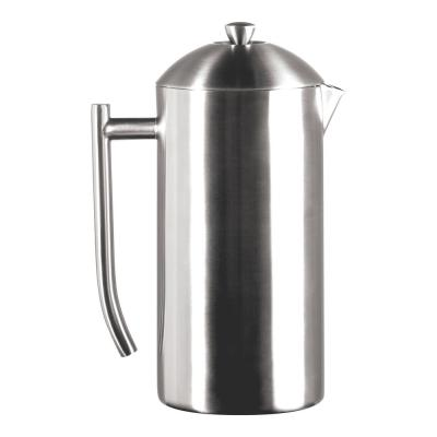 10-Cup Brushed Finish Stainless Steel French Press