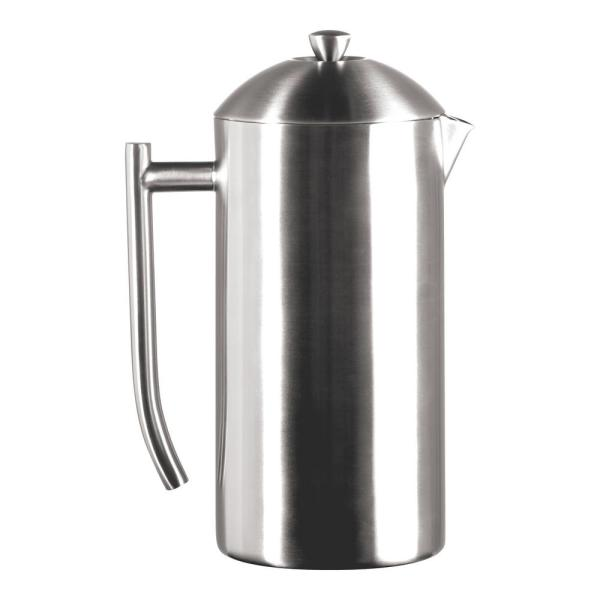 Frieling 10-Cup Brushed Finish Stainless Steel French Press 0131