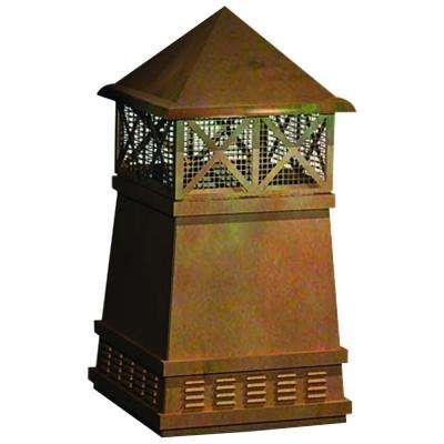 Chimney Caps Fireplace Accessories Parts The Home Depot