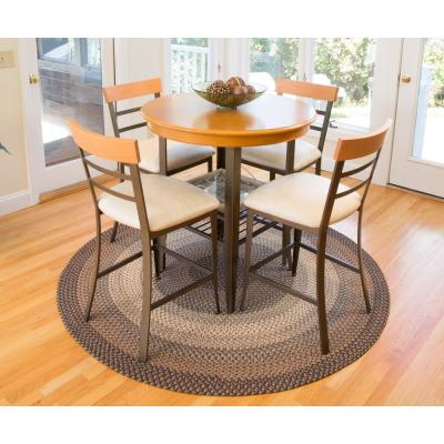 Ombre Taupetone 2 ft. x 6 ft. Indoor/Outdoor Braided Runner