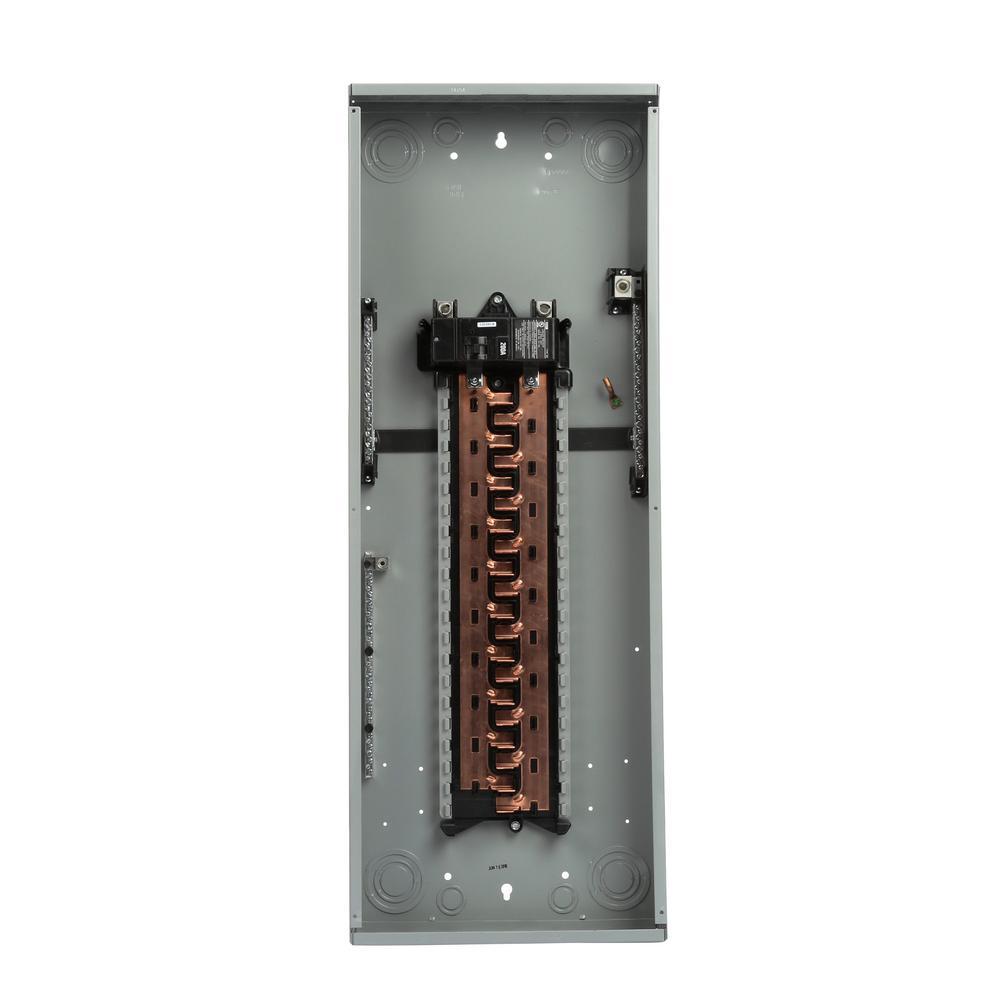 200 Amp 40 Space 40-Circuit Main Breaker Copper Bus Indoor Load Center
