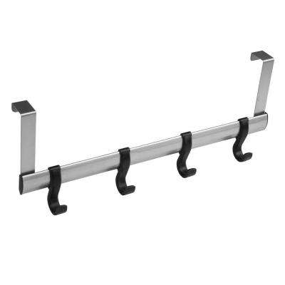 20 in. Over the Door Garment Rail (4-Hook)