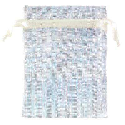 3 in. x 4 in. Iridescent Organza Bags (12-Count, 4-Pack)