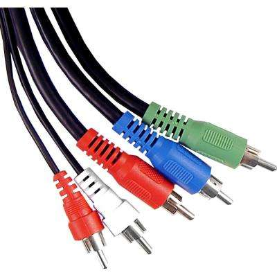 6 ft. Component Audio / Video Cable RCA Cable