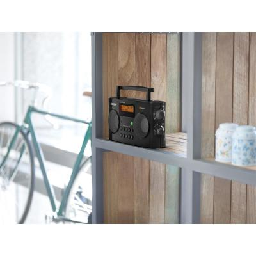 FM/AM HD Portable Stereo Radio