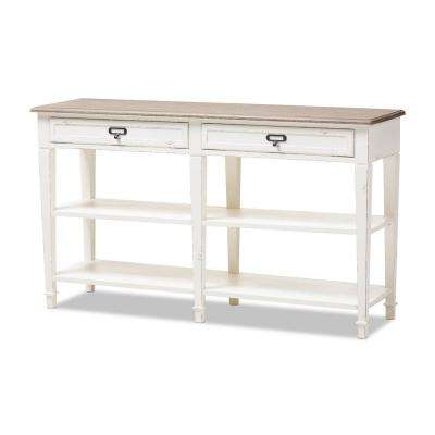 Dauphine White Console Table