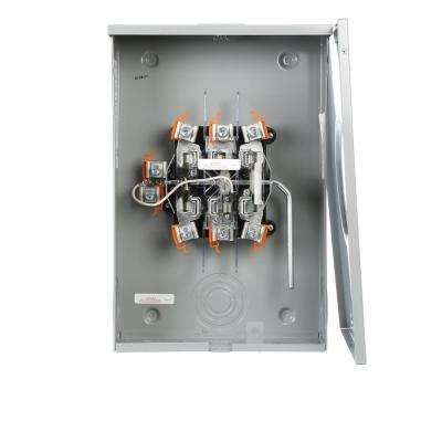 200 Amp 3-Phase 4-Wire Ringless Lever Bypass Meter Socket