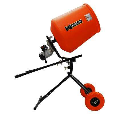 3.5 cu. ft. 1/2 HP 120-Volt Motor Direct Drive Cement Mixer