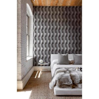 Debut Collection TingTing in Black/White Removable and Repositionable Wallpaper