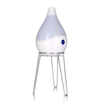 1.5 Gal. Drop Ultrasonic Cool Mist Humidifier, White