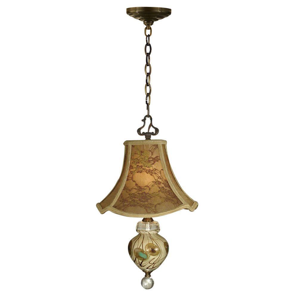 Dale Tiffany 1-Light Cinzia Mini Pendant