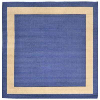 Square 7\' and Larger - Blue - Outdoor Rugs - Rugs - The Home Depot