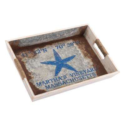Nautical Blue Small Tray