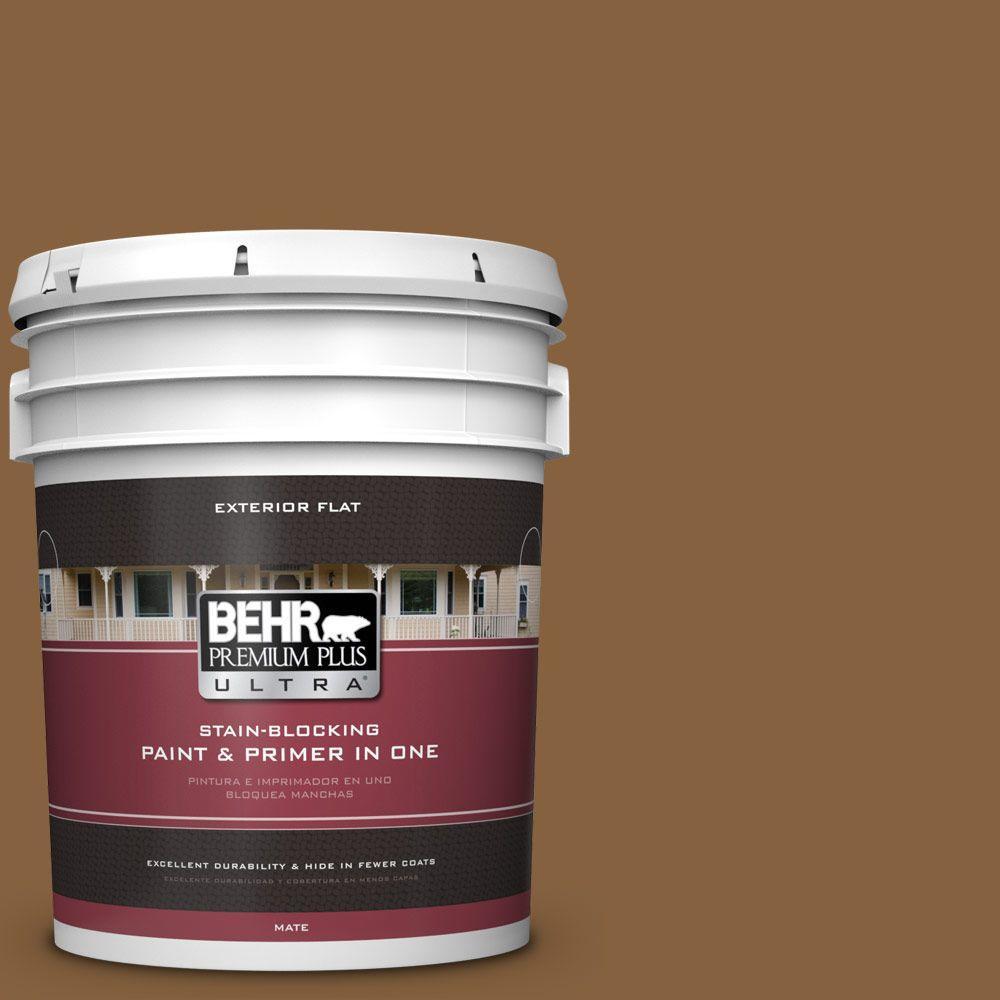 5-gal. #PPU4-18 Spice Bazaar Flat Exterior Paint