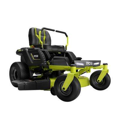 42 in. 75 Ah Battery Electric Zero Turn Riding Mower