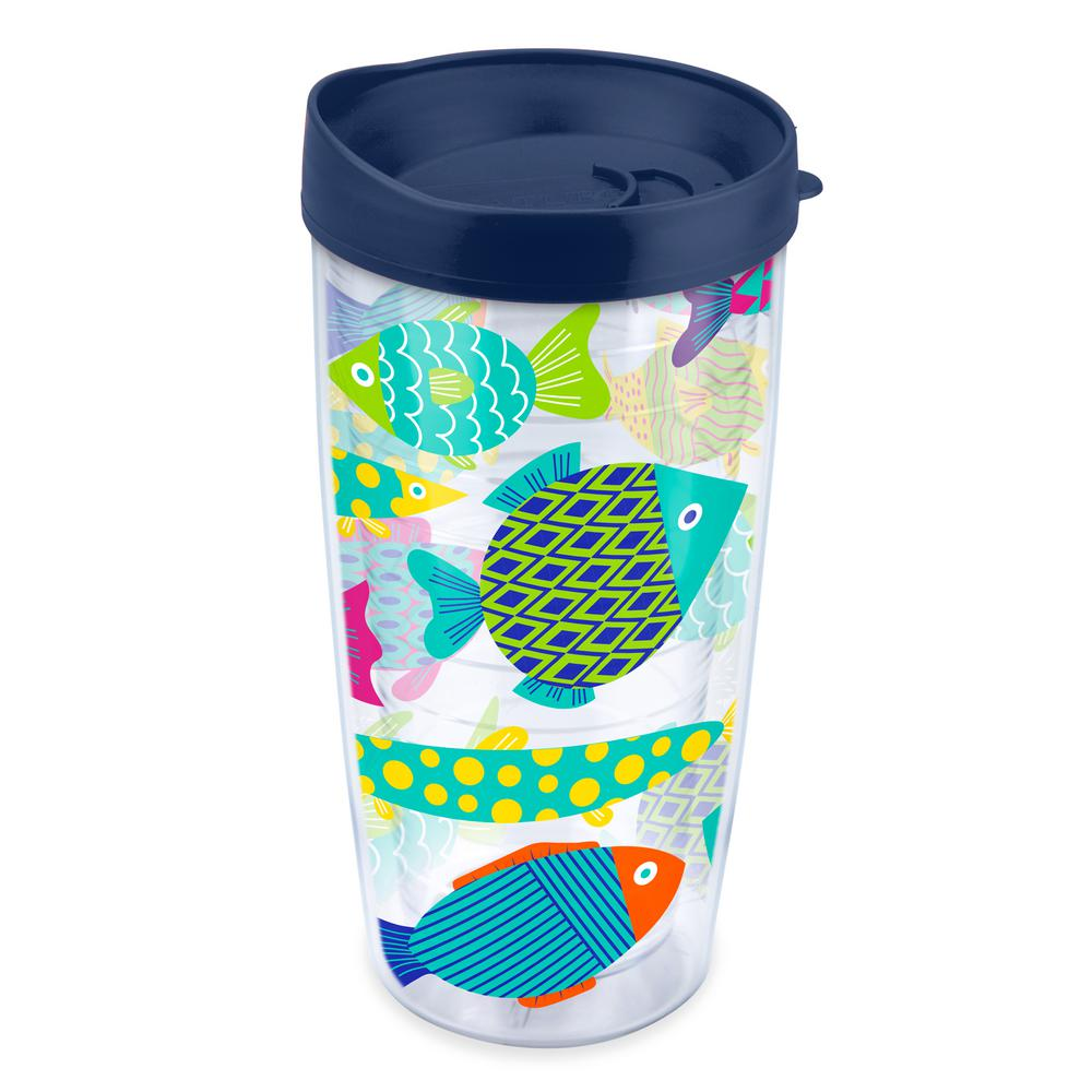 Fun Fish 16 oz. Tumbler