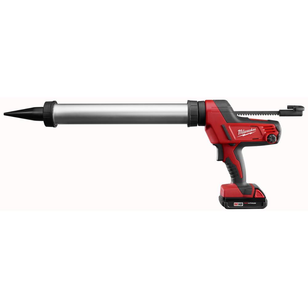 M18 18-Volt Lithium-Ion Cordless 20 oz. Aluminum Sausage Style Caulk and Adhesive Gun Kit