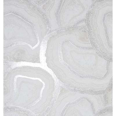 Agate Fabric Strippable Wallpaper (Covers 57 sq. ft.)