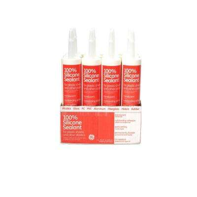 10 oz. Glazing Silicone Sealent (12-Pack)