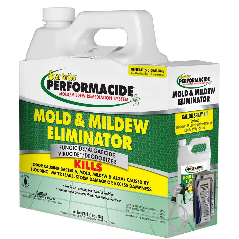 Star Brite Performacide 1 Gal Mold And Mildew Eliminator Spray Kit 3 Pack