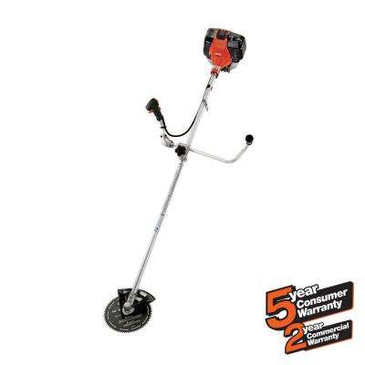 42.7cc Gas 2-Stroke Cycle Brush Cutter Trimmer