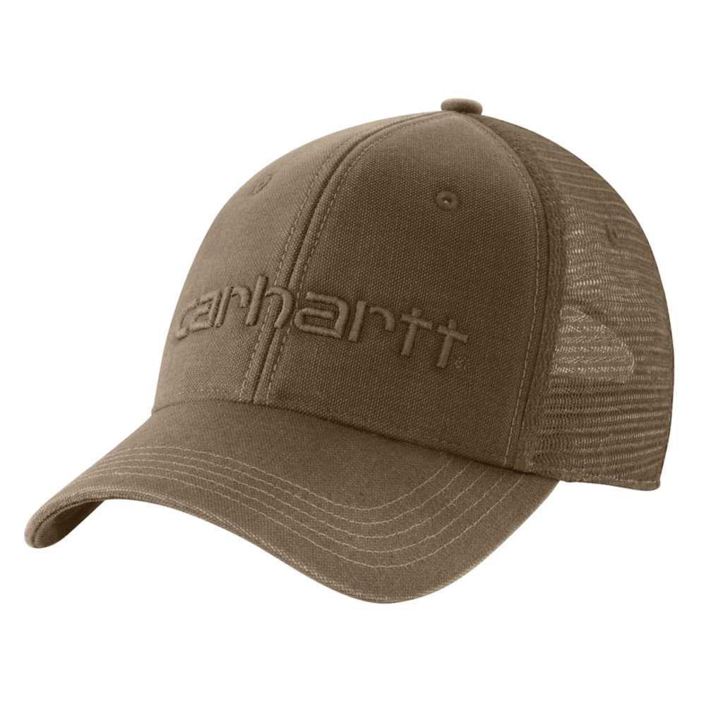 bce7832320f5 Carhartt Men's OFA Light Brown Cotton Cap Headwear-101195-235 - The ...