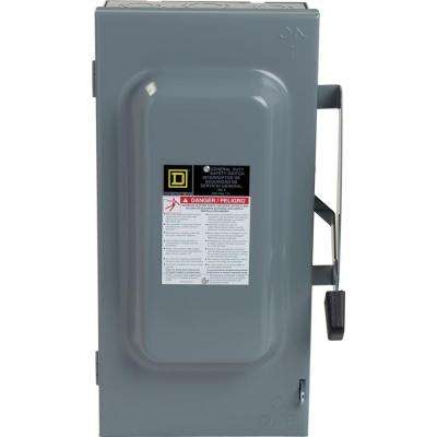 100 Amp 240-Volt 3-Pole 3-Phase Non-Fuse Indoor General Duty Safety Switch