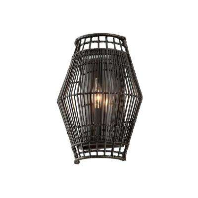 Hunter Point 1-Light Dark Espresso Sconce