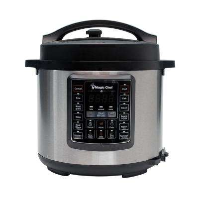 All-In-One 6 Qt. Stainless Steel Electric Multi-Cooker with Stainless Steel Pot