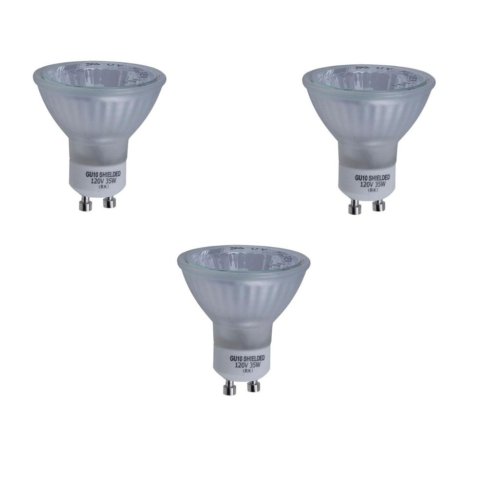 Hampton Bay Mercer Light Bulb: Hampton Bay 35-Watt GU10 Halogen Partial Reflector Light
