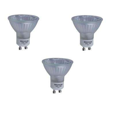 35-Watt GU10 Halogen Partial Reflector Light Bulb (3-Pack)