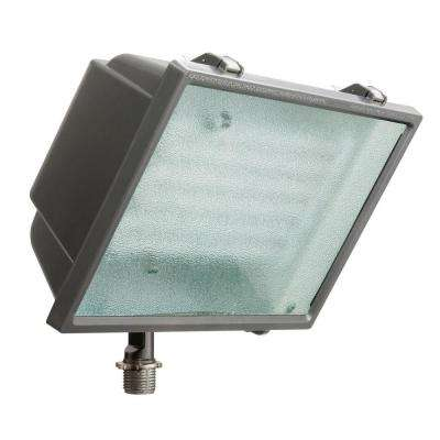 Bronze Triple-Tube Outdoor Fluorescent Wall-Mount Fixture