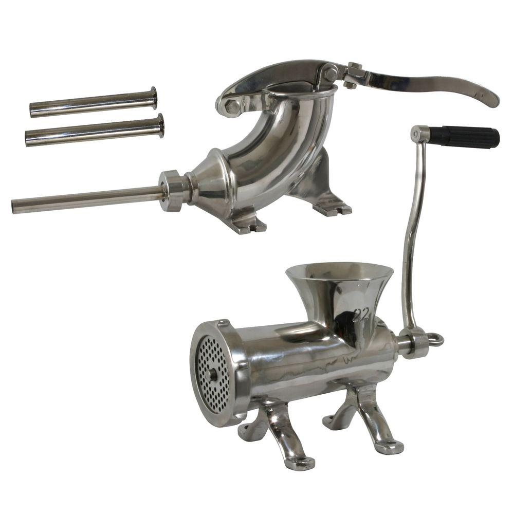 Sportsman Stainless Steel Meat Processing Set