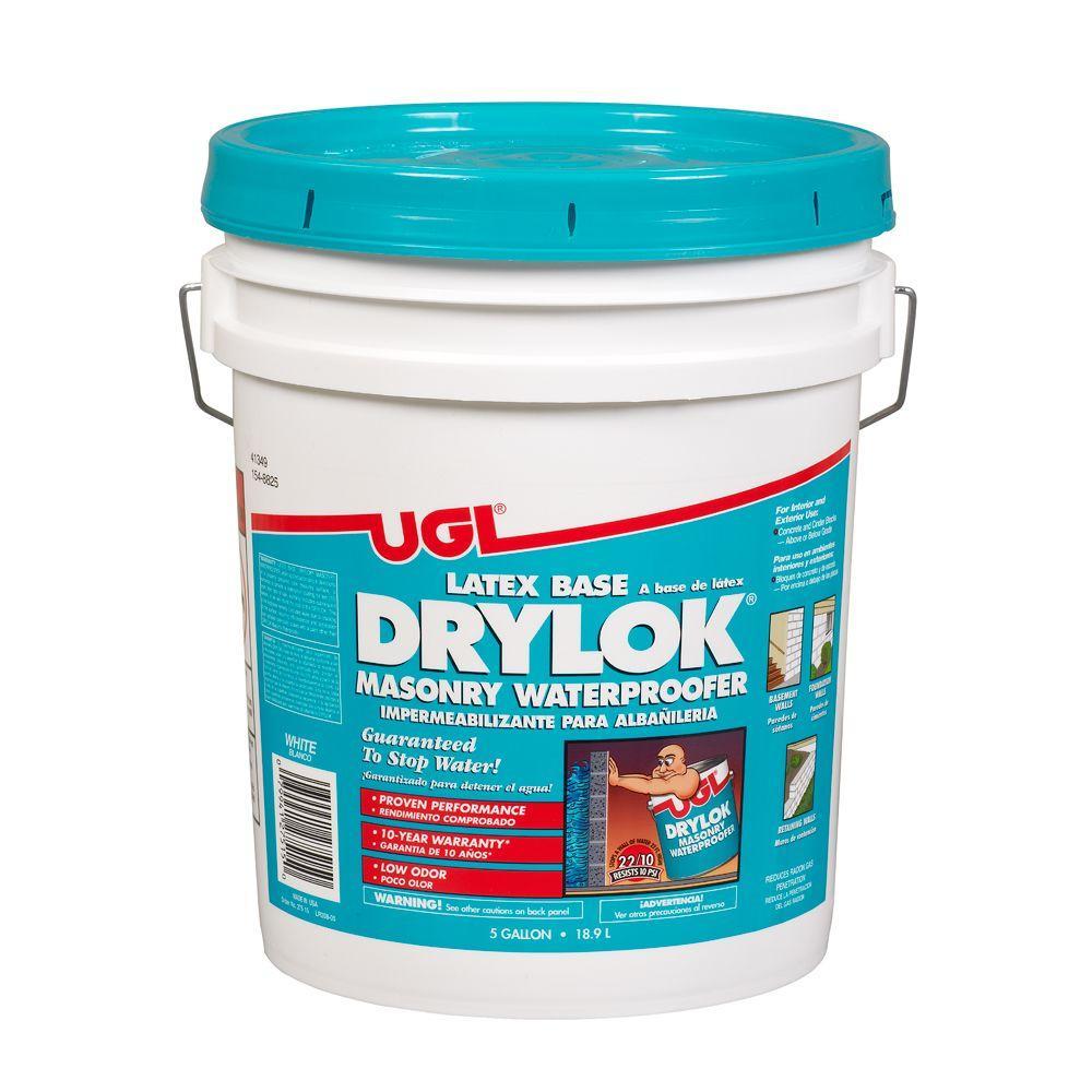 DRYLOK 5 Gal. Latex-Base Masonry Waterproofer-27215
