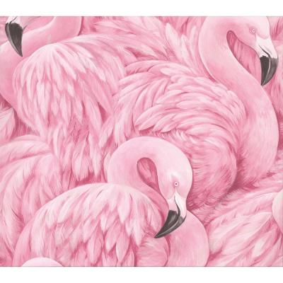 Horace Pink Flamingos Wallpaper