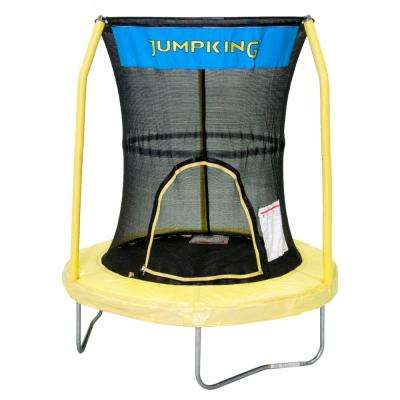 Bazoongi 55 in. Trampoline Enclosure Combo