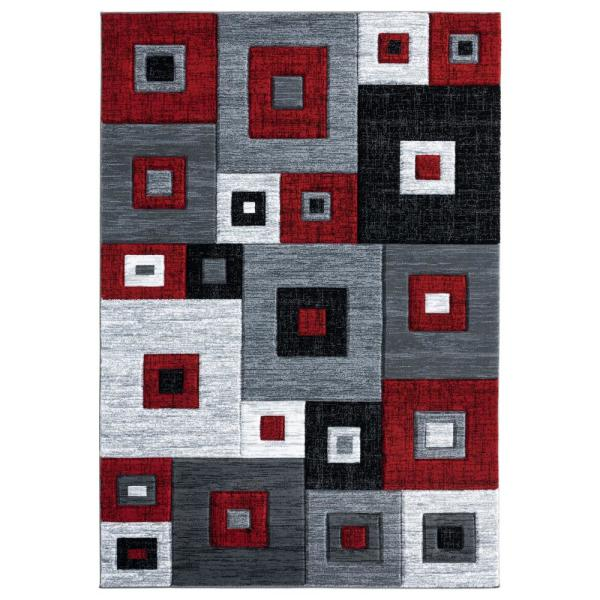 United Weavers Bristol Cicero Red 7 Ft 10 In X 10 Ft 6 In Area Rug 2050 10230 912 The Home Depot