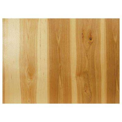 0.1875x34.5x48 in. Kitchen Island or Peninsula End Panel in Natural Hickory