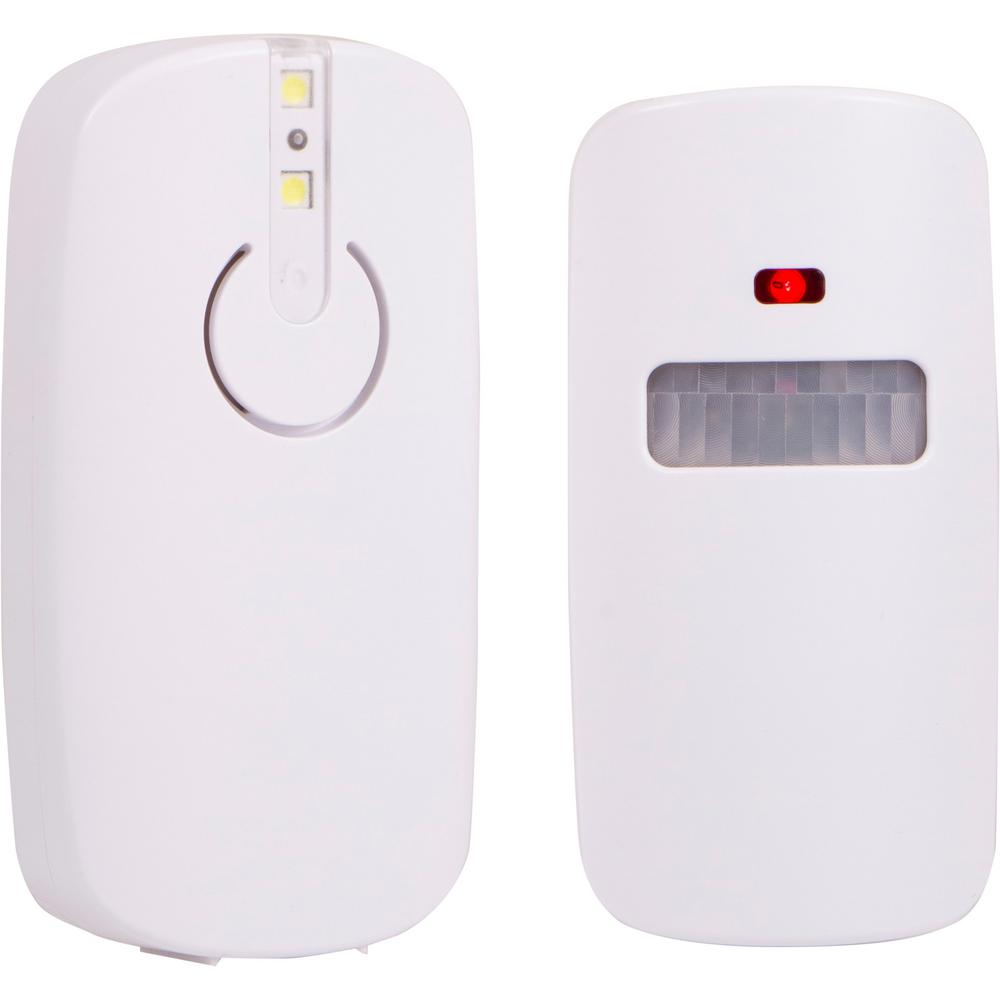 Power Gear Indoor/Outdoor Wireless Motion-Sensing Security Alarm Battery Operated