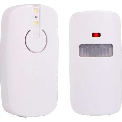 Indoor/Outdoor Wireless Motion-Sensing Security Alarm Battery Operated