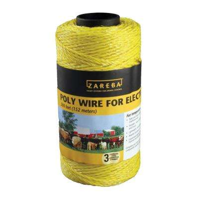 500 ft. Yellow Poly Wire