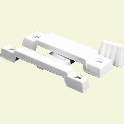Diecast White Finish, Window Sash Lock