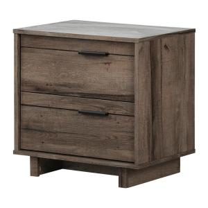 Fynn 2-Drawer Fall Oak Nightstand