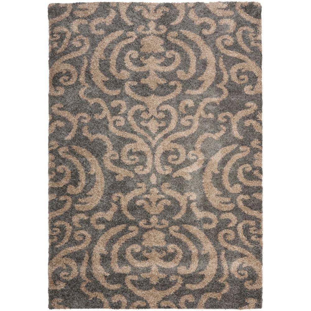 Safavieh Florida Gray Beige 8 Ft X 10 Area Rug