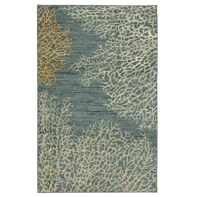 Coral Reef Multi 7 ft. 6 in. x 10 ft. Indoor Area Rug